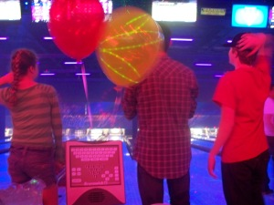 "Teen Meetup. ""Cosmic Bowling""."