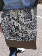 Gracie's Toile Bag